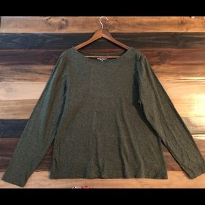 J.Crew Mercantile Artist Tee in Olive Size 2X